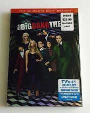 The Big Bang Theory: The Complete Sixth Season (DVD, 2013) NEW~SEALED