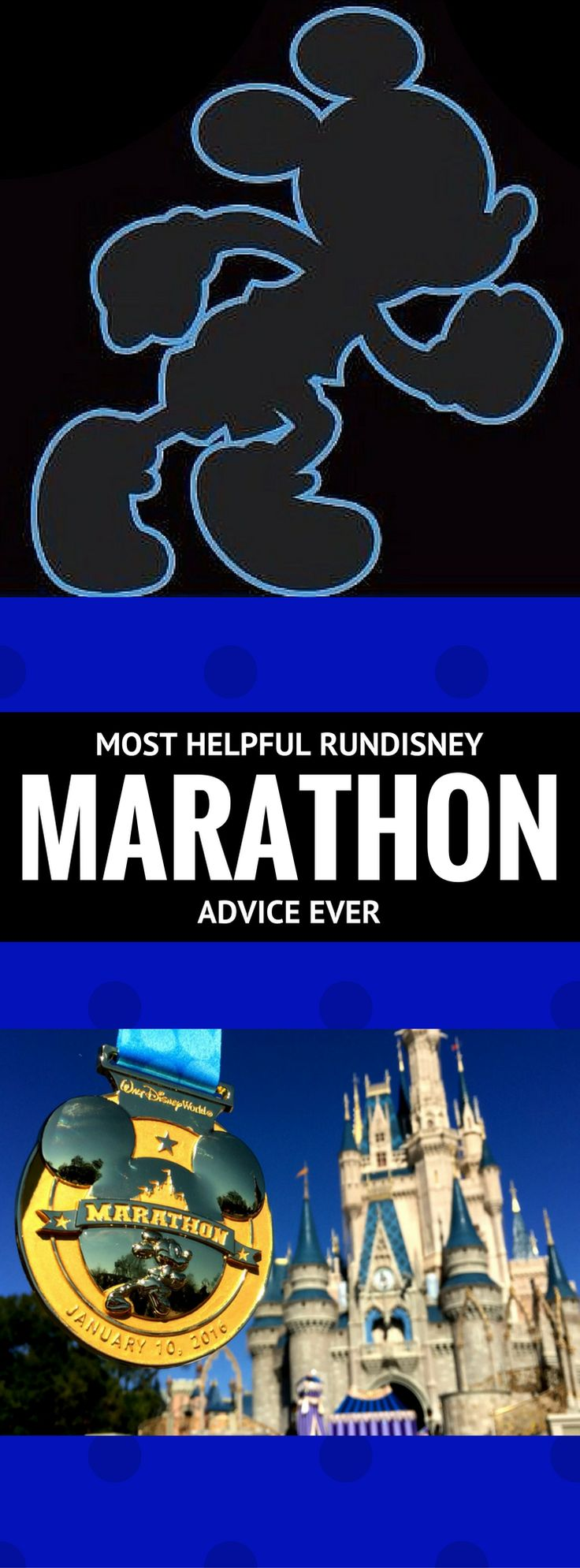 The most helpful runDisney Marathon advice ever! Running | Walt Disney World | Marathon | Marathon Weekend