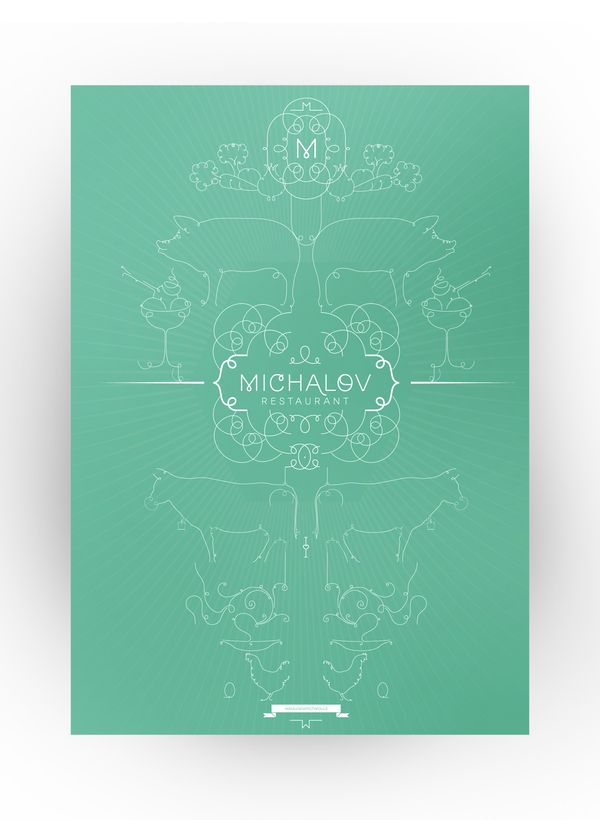 Michalov Restaurant | Corporate Identity | Designer: Stanislav Bilek | Image 4 of 7