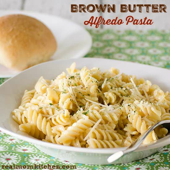 ... pasta pasta dishes butter alfredo mom kitchen today s recipe brown