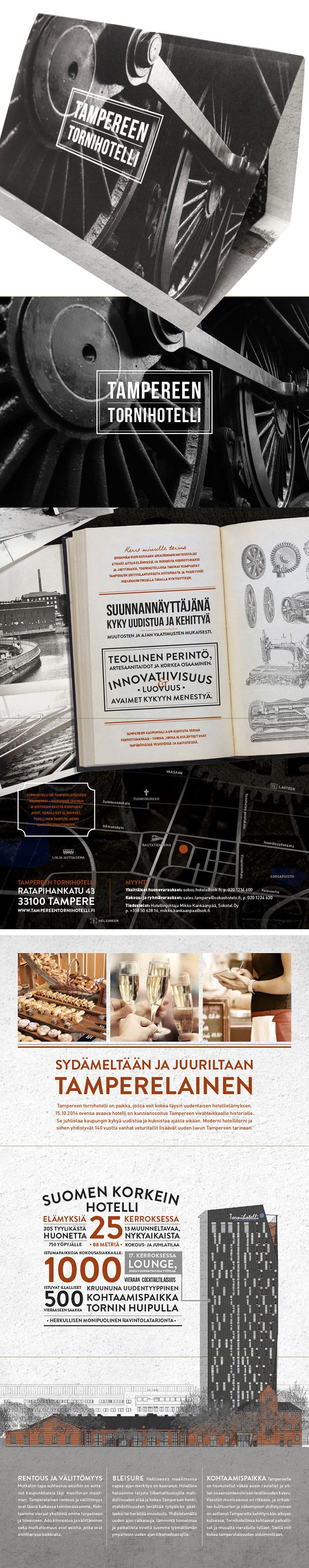 Tampereen Tornihotelli / brochure