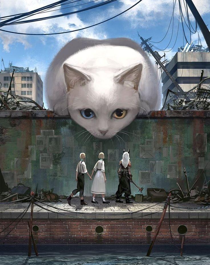 Dieser japanische Illustrator gibt den riesigen Tieren Leben   – Illustrations