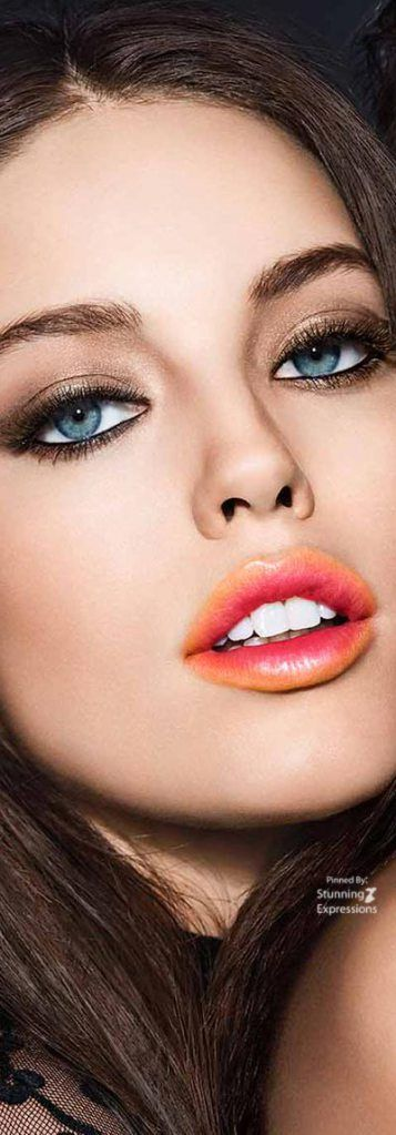 Emily Didonato – Maybelline Collection 2017. Love the lip color.