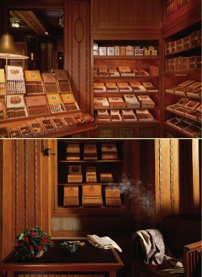 """After days of shopping, treat your men with this great """"smoking and tasting"""" of #cigars and #whiskey at P.G.C. Hajenius, an amazing cigar store worth visiting!"""
