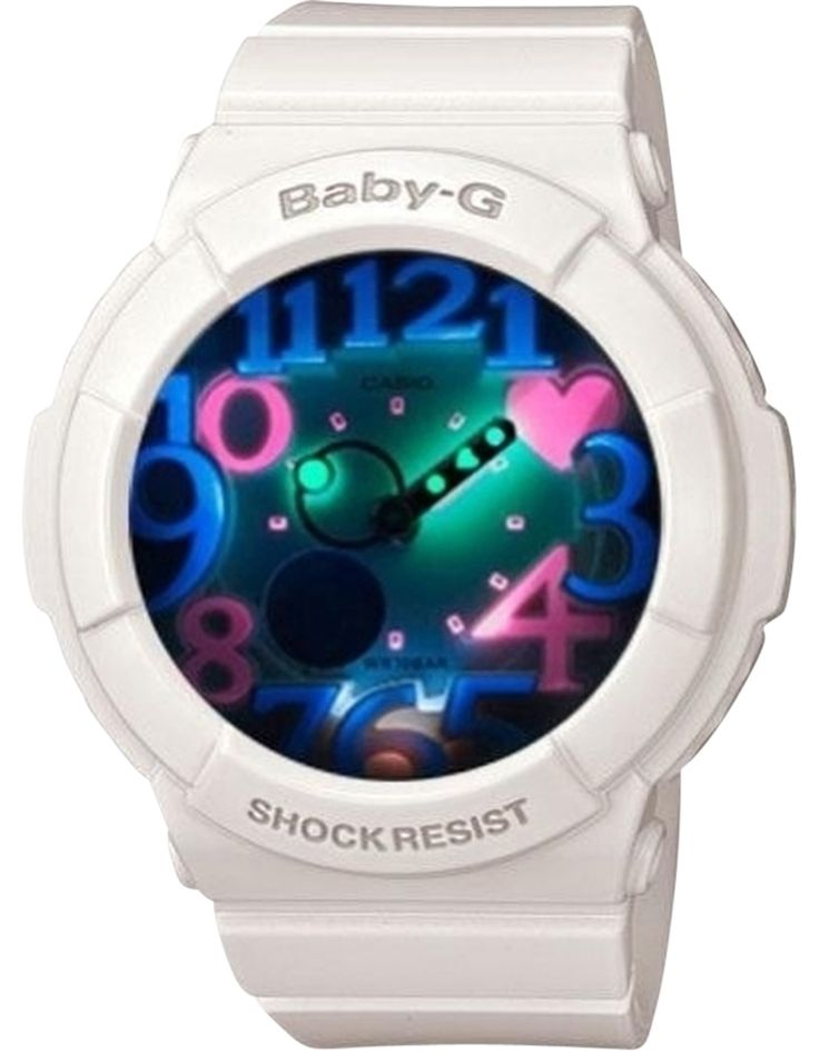 Baby G Shock Watches For Women | ... women-s-watch-g-shock-casio-baby-g-white-dial-women-s-watch-g-shock