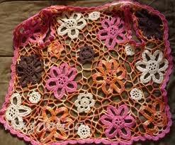 COMO UNIR FLORES CROCHET - Google Search: Hook, Crochet Maravilloso, Unir Flore Crochet, Rosa-Shocked Flora