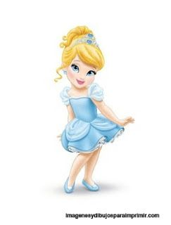 PARA IMPRIMIR: princesas disney bebes.