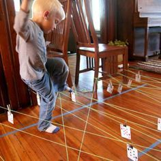 Help kids stretch their brains and bodies with these 10 indoor activities. From animal moves to pom-pom races, there's something for every age.
