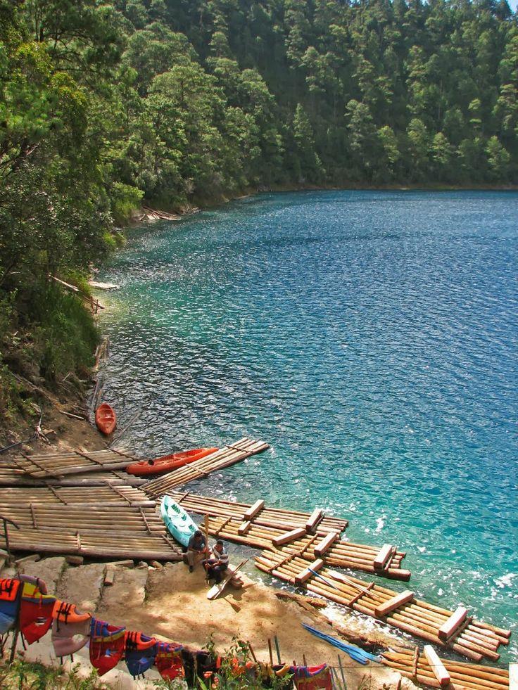 Montebello Lakes, Chiapas, Mexico// Los lagos más bellos de México