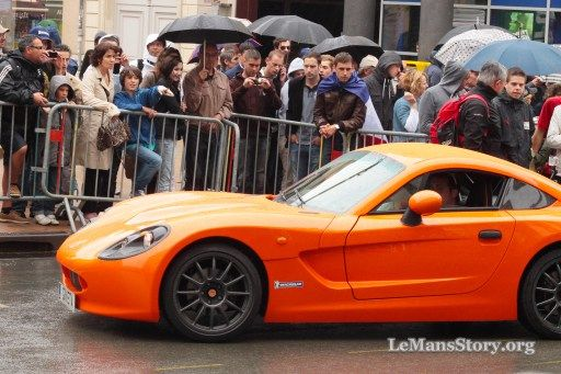 Ginetta G40 Top 10 Best Supercars pictures spotted on 24 Hours Le Mans