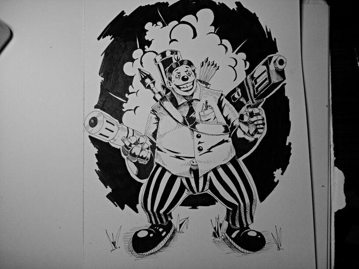 War clown