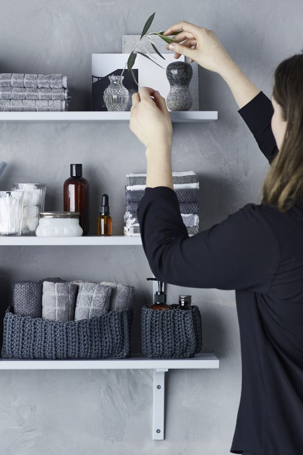Find bliss in your bathroom shelves again! Get secrets from an IKEA stylist for reorganizing your bathroom shelves in Your Stress-Free Organization Guide.