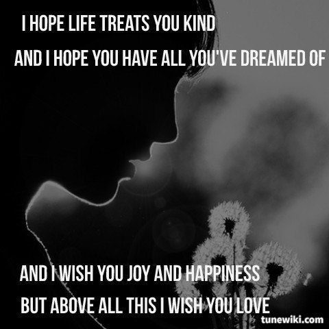 "-- #LyricArt for ""I Will Always Love You"" by Whitney Houston"