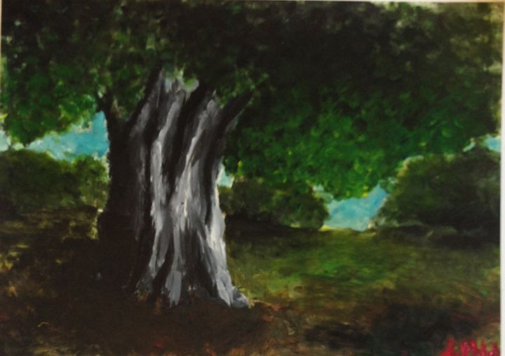 The big Tree - Alma gallagher