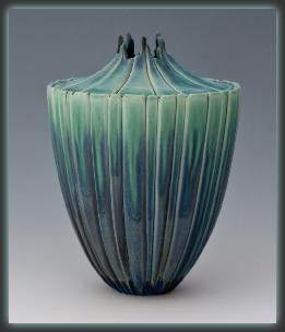 Newman Ceramic Works - Seedpod Vase   SattvaGallery.com