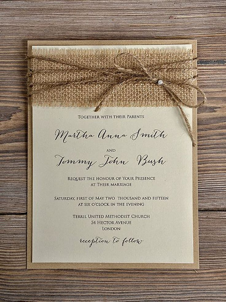 rustic wedding invitation 10 More 39 best