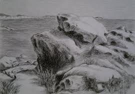 Dessin de rocher recherche google art rocher falaise - Dessin rocher ...
