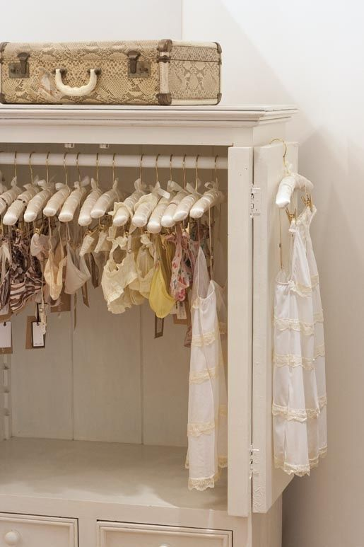 Charming Three Dreamy Lingerie Storage Tips (Daily Dream Decor)