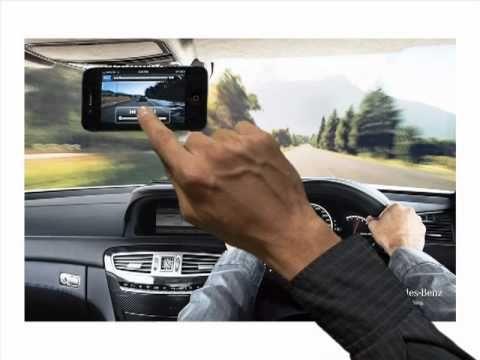 Mercedes-Benz Interactive Print Ad