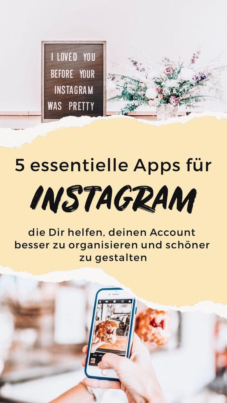 5 nützliche Instagram Apps für eine bessere Präsenz