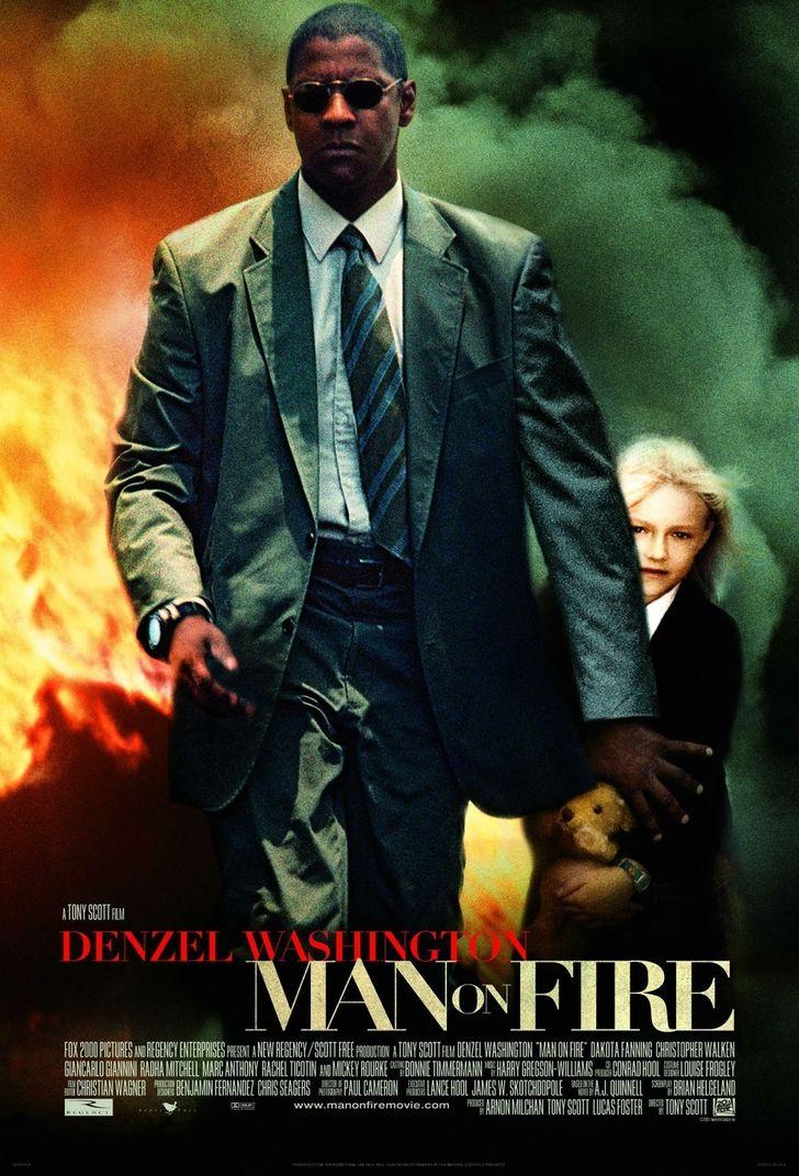 Denzel Washington Movie Posters   denzel washington movie posters man on fire 2000x2943 wallpaper Movie ...