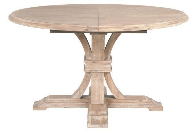 """Mark 54"""" Round Extension Dining Table"""