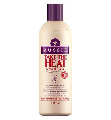 Aussie Take the Heat Shampoo 300ml 10106769 16 Advantage card points. Aussie Take the Heat Shampoo helps you style your hair to hotness without all the heat damage. FREE Delivery on orders over 45 GBP. http://www.MightGet.com/february-2017-1/aussie-take-the-heat-shampoo-300ml-10106769.asp