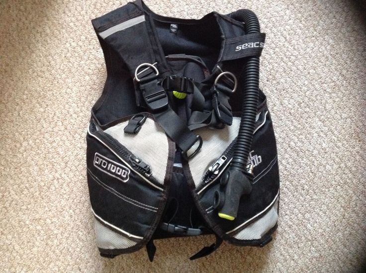 #Diving equipment..seac sub pro 1000 bcd in #excellent condition size #small,  View more on the LINK: http://www.zeppy.io/product/gb/2/122239270351/