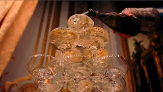 Marie Antoinette - vintage champagne glasses
