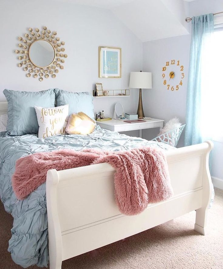40 Cute and Girly Bedroom Decor Idea for Teen