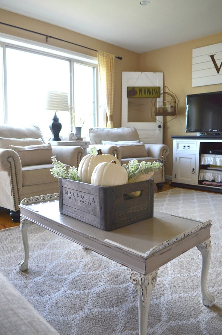 Top 25+ best Fall living room ideas on Pinterest | Fall mantle ...