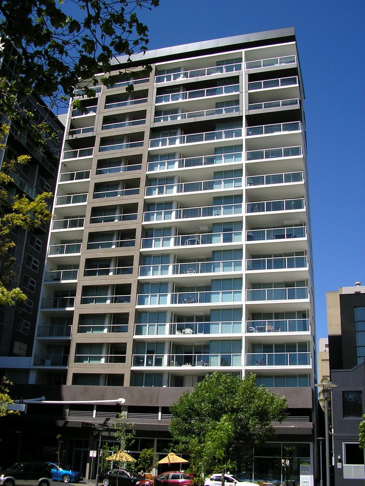 Our apartment building on Hindmarsh Square in Adelaide adjoined Crowne Plaza Hotel.