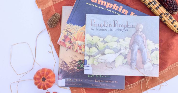 Fall has officially arrived! Our favorite October picture books include stories about pumpkins, scarecrow's, and falling leaves.