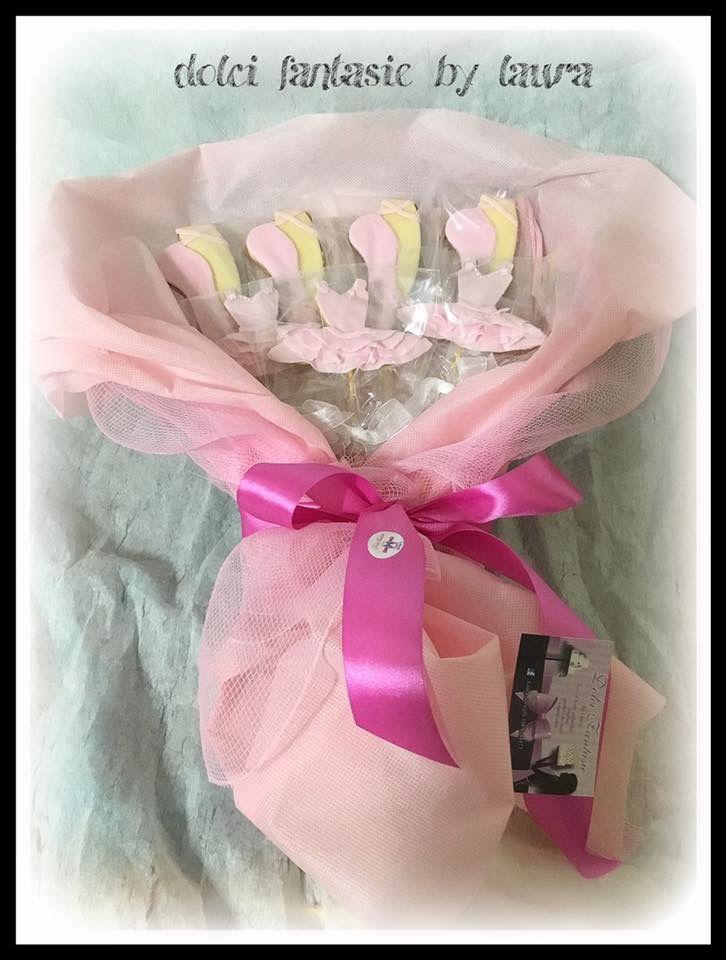 Ballet cookies bouquet