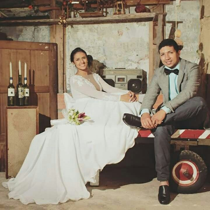 Hermosos nuevos esposos... #kumarasfotografia #fotosdeboda