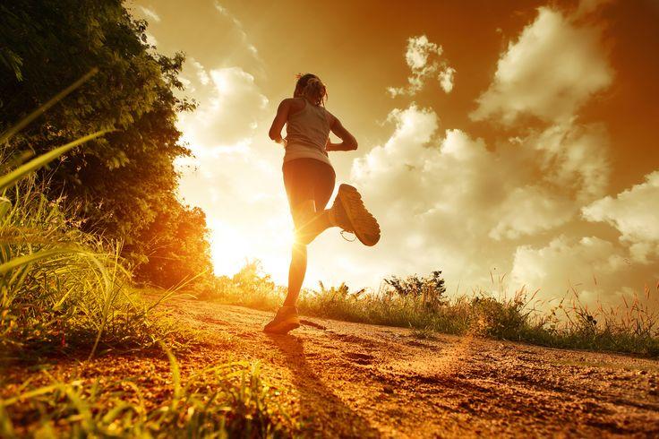 early morning run