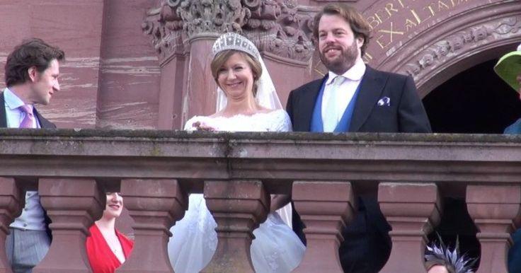 Ferdinand zu Leiningen & Viktoria Luise von Preußen haben geheiratet