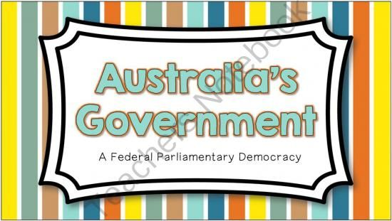 Australias Government -- Interactive Notes and Activities from Brain Wrinkles on TeachersNotebook.com -  (33 pages)  - Australia's Government -- Interactive Notes and Activities