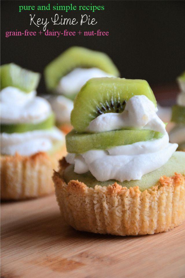 Key Lime Pie #paleo #dairyfree #nutfree #aip