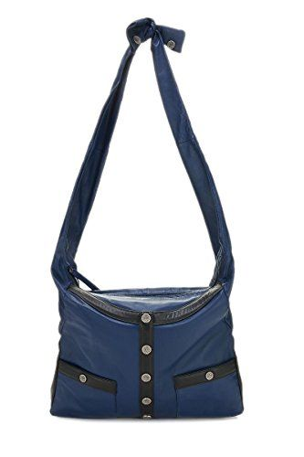 2750 Chanel Navy Lambskin Bag Pre Owned