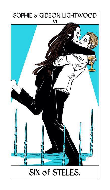 Sophie Collins and Gideon Lightwood