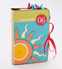 cute decorated binder idea