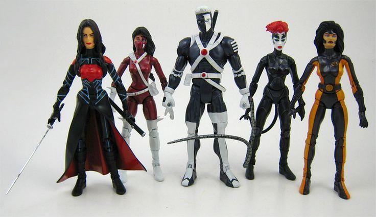 Backlash >> WildStorm characters Nemesis, Crimson, Backlash, Taboo & Voodoo | WildStorm Collection ...