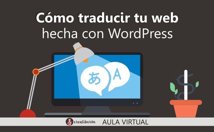 Crear pagina web con WordPress en dos idiomas