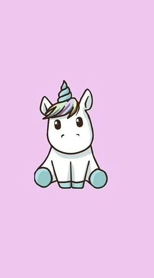 Imagem de unicorn, wallpaper, and pink