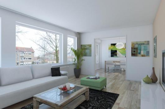Lekker licht appartement in Bussum