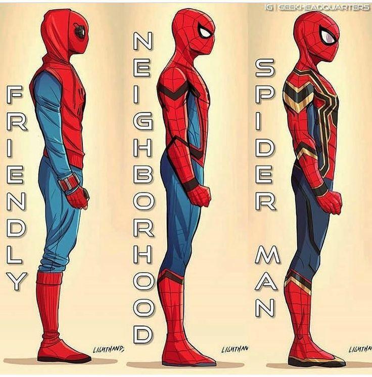 Spider-Man by @skywalkingtoot
