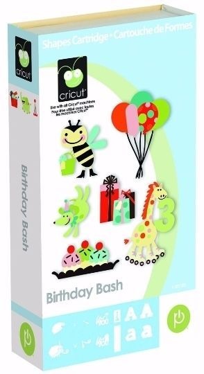 Brand NEW - Cricut Cartridge  BIRTHDAY BASH #Cuttlebug