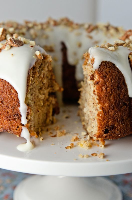 Cake With Pineapple And Pecans