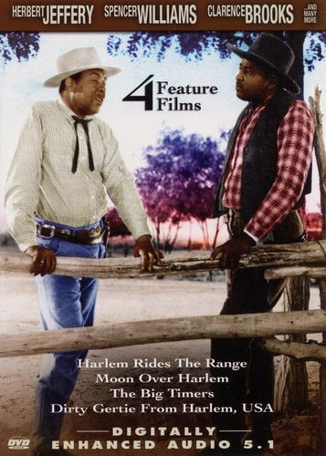 Harlem Rides the Range/Moon Over Harlem/The Big Timers/Dirty Gertie From Harlem, USA [DVD]